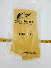 Onguard Latex Nuke Boots Protective Shoes Covering Size XXL Yellow Textured S