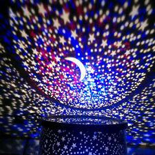 Amazing LED Starry Night Galaxy Projector Lamp Star Light Cosmos Master Romantic