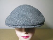 Vintage Kangol Light Grey Wool Cap - Size S