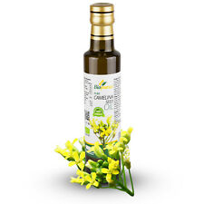 Certified Organic Cold Pressed Camelina Seed Oil 250ml Biopurus