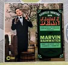 JIMMY DEAN & MARVIN RAINWATER-Nashville Showtime [Vinyl LP, 1966] USA Imp * EXC