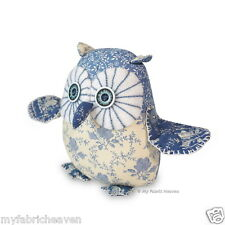 """Twinkle Starry-Eyed OWL Sewing PATTERN 6"""" Soft Toy & Tutorial Easy Instructions"""