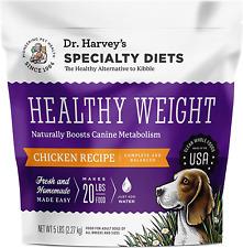 Dr. Harvey's Specialty Diet Healthy Weight Chicken 5 POUND Human Grade Dog Food