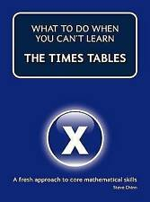 Very Good, What to Do When You Can't Do the Times Tables, Chinn, Steve, Book