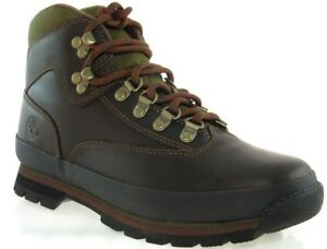 TIMBERLAND 8364B EURO HIKER WOMEN'S BROWN LEATHER BOOTS