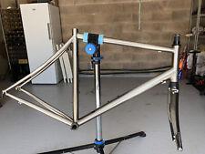 Enigma echo titanium bike frameset size 59
