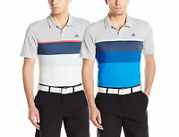 Adidas Golf Men's Climacool Engineered Stripe Polo Shirt, 2 Colors