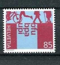 Svizzera/Switzerland 2013 francobollo Bfu, Bpa, Upi MNH