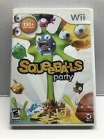 Squeeballs Party (Nintendo Wii, 2009) Complete w/ Manual - Tested Working