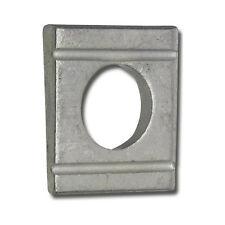 10 cale oblique 11mm pour profilés en U INOX A4  DIN 434