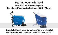 LEASING&MIETKAUF ab 64,66€/M Akku & Kabel Scheuersaugmaschine Reinigungsmaschine