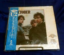 U2 October 25S-44 OBI, Insert, Island Records, Stereo, Vinyl Record, LP, Japan