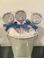 15 Baby Boy Personalized Baby Shower Lollipops