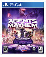 Agents Of Mayhem PS4 Video Game (Sony PlayStation 4 2017)