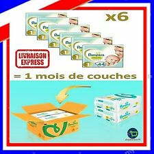 Couche Nouveau Né Pampers 2 à 5Kg Lot de 264 Couches Pour Bébé Pack 1 Moi