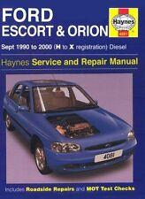 Haynes Escort Car Manuals and Literature