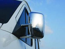 VW VOLKSWAGEN LT / VOLT CHROME DOOR WING MIRROR TRIM SET COVERS PRE 06 LHD