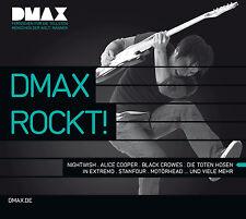 CD Dmax Rockt d'Artistes divers 2CDs avec Motörhead, Alice Cooper, Megaherz