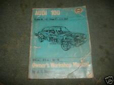 Audi 100 owner's workshop repair manual 68-77 yr.