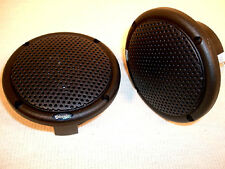 """MARINE SPEAKERS, Qty 2, BLACK, 3"""",  for ATV, SPA, MOTORCYCLE, BOAT, CAR"""