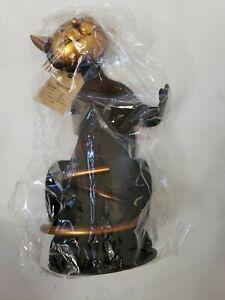 Tooarts Cat Shaped Wine Holder Wine Rack shelf Metal Sculpture Practical Home de