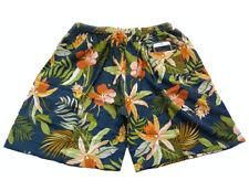 """Hawaiian Men's Silk Shorts Casual Beach Shorts Size XXL 40""""-44"""""""