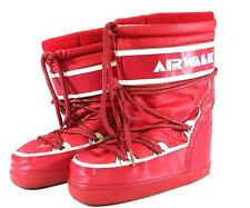 AIRWALK Mens SNOWBOARD BOOTS RED COOL SHOES  PRE OWNED SNEAKERS SIZED 7 8 MENS