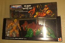 Masters of the Universe He-man Battle Cat 2-Pack Commemorative MOC