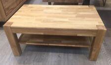 Couchtisch Tisch Eiche Massiv geölt 105 x 65 cm  Wohnzimmer Tisch