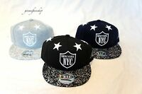 NY STAR KIDS SNAPBACK CAPS, CHILDREN'S FLAT PEAK BRIM HATS BOYS & GIRLS HIP HOP