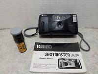 Ricoh Shotmaster AF 35mm Vintage Black Camera Film