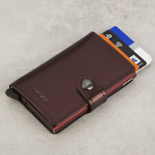 NEW Secrid Metallic Moro Leather Mini Wallet