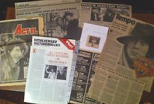 Dr Who, Press Clipping Newspaper Article FROM USA 1980s,TOM BAKER,Scrapbook,mag