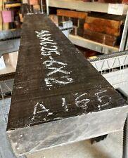 Gabon Ebony Lumber 38x6.25x2 Wood Ebony Timber For Guitars Furnitures Cues A165