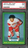 1973-74 O-PEE-CHEE #236 RON STACKHOUSE PSA 9 RED WINGS  *CG3346