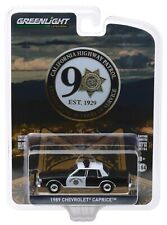 1:64 GreenLight *ANNIVERSARY COLLECTION 10* 1989 Caprice CHiPS Highway Patrol