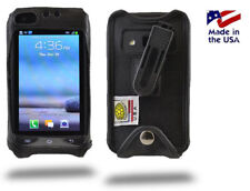 Turtleback Samsung Rugby Pro i547 Fitted Leather Phone Case with Belt Clip