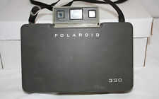Polaroid 330 Land Camera ~ With Manual ~ Vintage ~ Untested (Battery is dead)