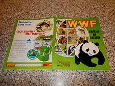ALBUM figurine WWF ANIMALI DA SALVARE PANINI MB/OTTIMO COMPLETO TIPO LAMPO-EDIS