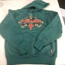 MAJESTIC PHILADELPHIA PHILLIES AUTHENTIC COLLECTION 1883 Size M MLB