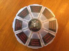 48pcs Demon Killer 8 in 1 Clapton Hive Alien Twisted Tiger RDA Pre-Built Coils