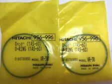 2 Qty- Genuine Hitachi O-Ring 956-996 956996 For H55SC NR90AA H65SC Demo Hammer