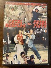 Fatal Needles Vs. Fatal Fists - Hong Kong Kung Fu Martial Arts Action movie Dvd