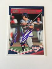Andrew Vaughn Autographed 2018 Panini USA Baseball Card California MLB Draft