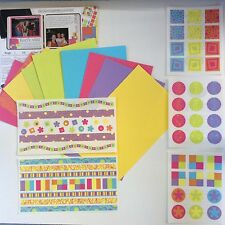NEW Creative Memories - BRIGHT - SNAP PACK ALBUM KIT