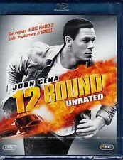 Blu-ray **12 ROUND** Unrated ~ con John Cena ~ nuovo sigillato 2009
