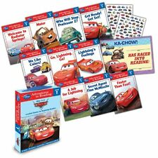 Reading Adventures Cars Level 1 Boxed Set of 10 Readers (2013, Paperback)