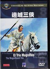 Clásicos de las Artes Marciales: EL TRIO MAGNÍFICO de Chang Cheh. DESCATALOGADA.