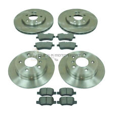 MERCEDES B-CLASS B160 2009-2012 FRONT AND REAR BRAKE DISCS & PADS SET NEW