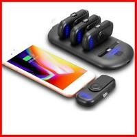 Magnetic Pad Finger Pow Mini Power Bank Charger Mount For iPhone/Android Access